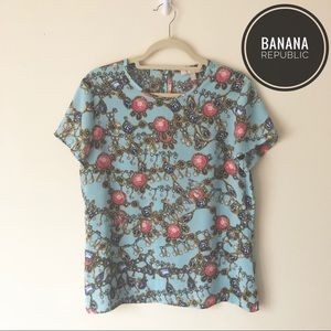 Banana Republic | Short Sleeve Blouse